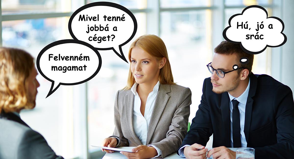 10 hiba állásinterjún