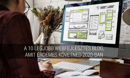 A 10 legjobb webfejlesztés blog, amit érdemes követned 2020-ban